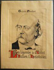 COURBOULEIX - Flaubert - Légende de Saint Julien - Ex. H.C. sur Auvergne signé