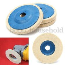 3pcs 100mm 4Inch Grinding Pad wool Polishing Abrasive Wheel Felt Buffer Disc Set
