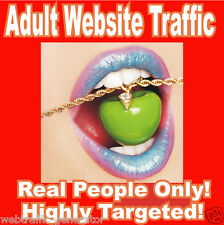5,000 Real Visitors! ADULT TARGETED website traffic! 100% Adsense Safe!