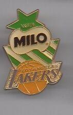Pin's basket ball / équipe lakers - Milo de Nestlé