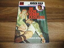 Jean Bruce -- Geheimagent OSS 117  # 15 // die Leiche seiner Exzellenz / EA 1967