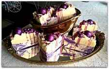 Huckleberry Bliss/Handcrafted Artisan Soap Cake/Shea Butter, Coconut Milk & Aloe