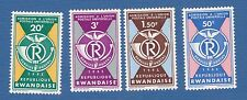 Ruanda Rwanda 1963 upu unione postale internazionale MNH**og