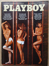 Playboy - D, 11/1976, Doris Anders, Corinne Clery, David Bowie, Andrea Rau