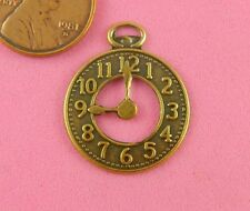 ANTIQUE BRASS SMALL CLOCK WITH OPEN CENTER-4 PC(s)