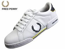 Fred Perry Trainers Laurel Logo Leather (White, UK 7)