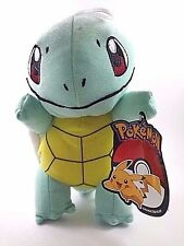 "Pokemon GO Nintendo Squirtle 8"" Soft Plush Toy Factory Doll Stuffed U.S. Seller"