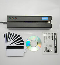 Magnetic Swipe Credit Card Reader Writer Encoder MSR605X MSR206  Magstripe