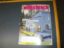 WORKBENCH MAGAZINE DEC/JAN 1992 BUILD A PLYWOOD CABIN BUILDING INSTRUCTIONS