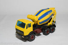 CONRAD MERCEDES BENZ TRUCK CONCRETE MIXER BETONMISCHER YELLOW NEAR MINT COND.