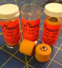 T'NT Products 13/16 tall for 1/8 axle 3 pair Orange D12 Mid America Naperville