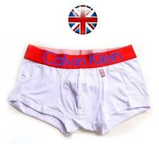 "33""-37"" XL WHITE Imported World Cup UK Men's Boxer Brief Trunks"