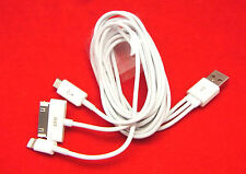 4 in 1 USB Kabel Lightning für iPhone 2G 3G 3GS 4 4S 5 Samsung Tab Tablet