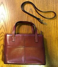 Etienne Aigner Brown Purse - Genuine Leather - Vintage Classic Hand Bag - NICE!