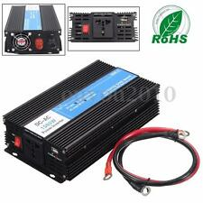 1500 - 3000W Watt Solar Power Inverter Car 12V DC to 220V AC w/ USB Charge