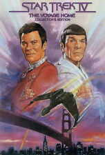 STAR TREK 4: THE VOYAGE HOME Movie POSTER 27x40 D Leonard Nemoy