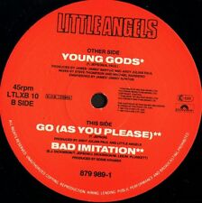 "LITTLE ANGELS young gods/go/bad imitation LTLXB 10 uk polydor 1991 12"" WS VG/"