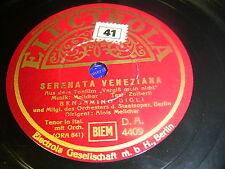 8/2L Benjamino Gigli - Solo Per Te, Lucia - Serenata Veneziana