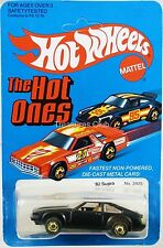 Hot Wheels '82 Toyota Supra The Hot Ones #3925 New in Pack 1981 Black 3+ 1:64
