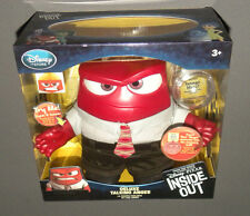 INSIDE OUT MOVIE Deluxe Talking Anger Action Figure Doll Disney Store Pixar