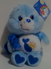 "2003 7"" BABY TUGS CARE BEAR CARLTON PLAY ALONG 20th ANNIVERSARY NWT MINT"