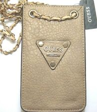 Guess Logo Chit Chat Mini Bag Purse Wallet Desert VG493260 New With Tag