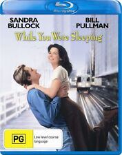 WHILE YOU WERE SLEEPING (Sandra Bullock)   -  Blu Ray - Sealed Region B