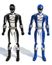 "Power Rangers Operation Overdrive_BLACK and BLUE OVERDRIVE RANGER 6"" figures_MIB"