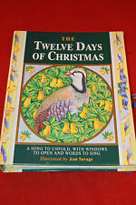 Twelve Days of Christmas by Ann Savage 1992 Fold-Out/Pop-Up