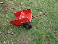 1950's/60's Murray Dump Trac model: ride/on pulled by Pedal Tractor