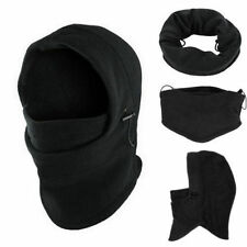 1Pcs Ski Full Face Mask Cover Hat Cap Motorcycle Thermal Fleece Balaclava Neck