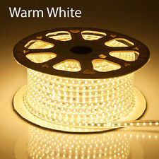 1-100m 5050 SMD 60 LED Strip Light 110v High Voltage Flexible IP67 Waterproof
