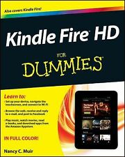 Kindle Fire HD for Dummies by Nancy C. Muir (2012, Paperback) (FREE 2DAY SHIP)