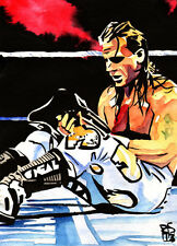 Shawn Michaels 18 x 24 Print, Poster Painting WWE WWF HBK DX Heartbreak Kid