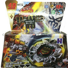 Variares D:D Fury 4D Beyblade BB-114 Top Metal Fusion Fight Master Launcher Toy