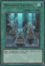 3x (M/NM) Dragonic Tactics - LC02-EN012 - Ultra Rare - Limited Edition  YuGiOh