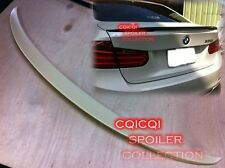 Painted BMW 12~16 F30 3-series Sedan Performance style trunk spoiler all color ※