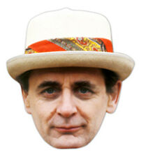 Sylvester McCoy The Seventh (7th) Doctor Who Single Card Party Fun Face Mask