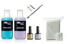 Bluesky Nail Gel Kit with Steel Cuticle Pusher