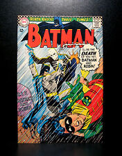 COMICS: DC: Batman #180 (1966), 1st Death Man app - RARE (superman/figure/flash)