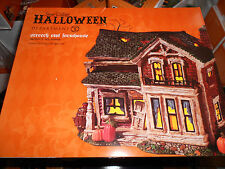 DEPT 56 HALLOWEEN VILLAGE SCREECH OWL FARMHOUSE *Excellent Store Display*
