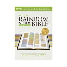 Rainbow Study Bible-NIV by Holman Bibles (Hardback, 2015)