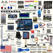 Adeept New Ultimate Starter Kit for Arduino UNO R3 LCD1602 Processing Beginner