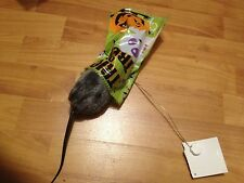 ANIMATED RAT IN TRICK OR TREAT BAG Prop WIGGLES HAUNTED MUSIC EVIL LAUGH