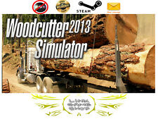 Woodcutter Simulator 2013  PC Digital KEY STEAM - Region Free