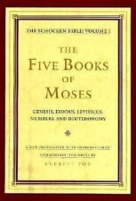 Schocken Bible: The Five Books of Moses : The Schocken Bible, Volume I Vol. 1...