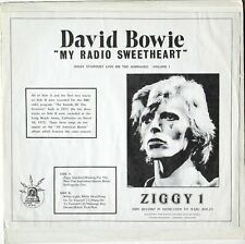 "David Bowie Lp Record . ""My Radio Sweetheart"" RARE. EX/EX Cond"