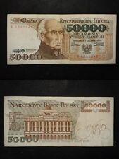 POLONIA  BANCONOTA DA 50000 SLOTYCH 1989
