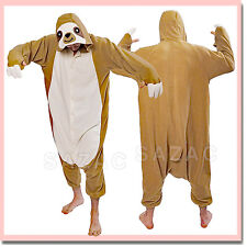 SLOTH KIGURUMI - Adult Costume shipped from USA - Sazac Kigurumi Animal Pajamas