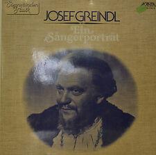 """JOSEF GREINDL - EIN SÄNGERPORTRÄT   12"""" 2  LP (N855)"""
